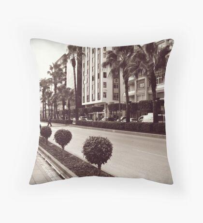Ataturk Bulvari,Adana Throw Pillow