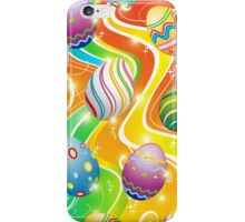 Happy Easter Eggs Ornamental Design iPhone Case/Skin
