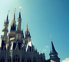 Cinderellas Castle  by LaurelMuldowney