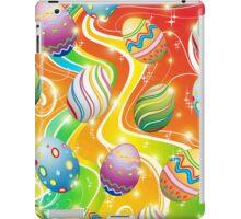 Happy Easter Eggs Ornamental Design iPad Case/Skin