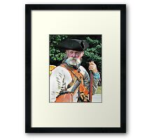 Ye Olde Rebel Patriot Framed Print