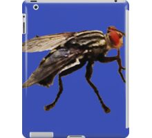 Fly Print On Blue iPad Case/Skin