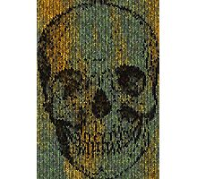 knitted skull Photographic Print