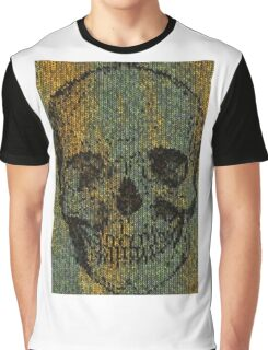 knitted skull Graphic T-Shirt