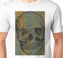knitted skull Unisex T-Shirt