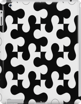 Puzzle pieces- ipad case by ksully