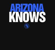 Discreetly Greek - Arizona Knows - Nike parody Womens Fitted T-Shirt
