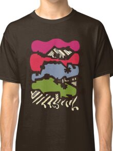 Dissolve Abstract 4 Classic T-Shirt