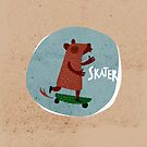Skater by menulis