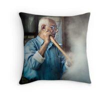 Souq Worker Throw Pillow