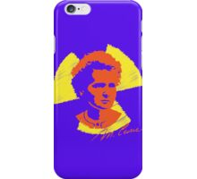 Frock Star Marie Curie iPhone Case/Skin