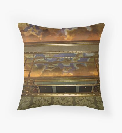 Ceiling Reflections, The Venetian, Garfield NJ Throw Pillow
