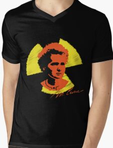 Frock Star Marie Curie Mens V-Neck T-Shirt