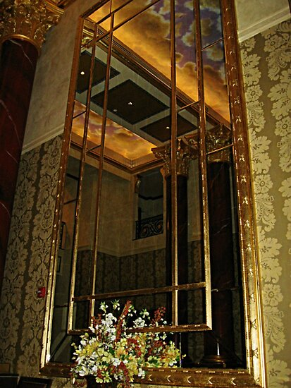 Wall Mirror, The Venetian, Garfield NJ by Jane Neill-Hancock