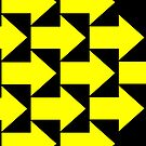 Yellow Arrows  by AHakir