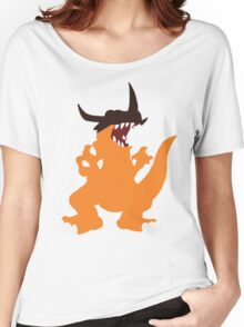 Simplistic Greymon Women's Relaxed Fit T-Shirt