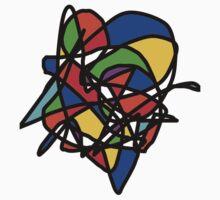 Virtual Art of the 90s Kids Tee