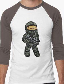 Hail to the Chief Men's Baseball ¾ T-Shirt