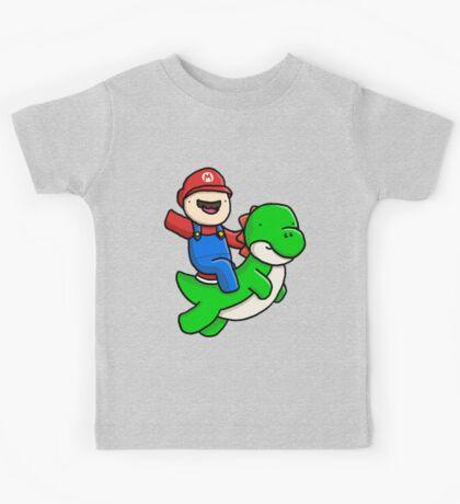 A Man and his Dinosaur Kids Tee