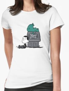 Call of Snoophulhu Womens Fitted T-Shirt