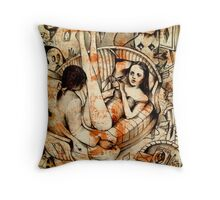 """I can't explain myself, I'm afraid, Sir, because I'm not myself you see""! Throw Pillow"