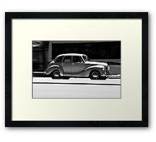 Street Racer Framed Print