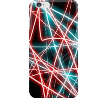 Luminescent Neon Lines iPhone Case/Skin