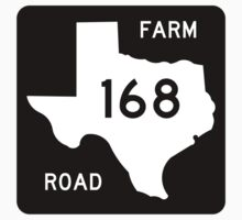 Farm-to-Market Road 168, Texas, USA by worldofsigns