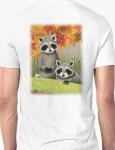 Fall Raccoon T-Shirt