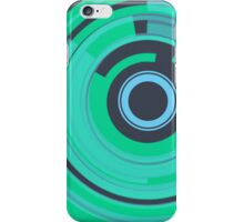 Retro Tech iPhone Cover (Teal) iPhone Case/Skin