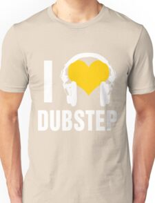 I Love Dubstep (dark) Unisex T-Shirt