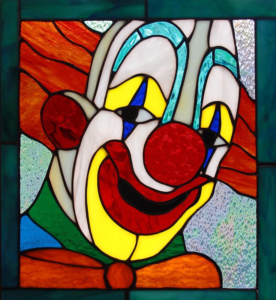 Clown Window by Keith G. Hawley