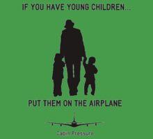 Put Them on the Plane Baby Tee