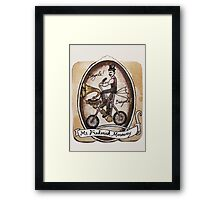 Mr Frederick Mercury Framed Print