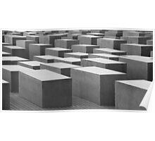 Holocaust Memorial, Berlin 02 Poster