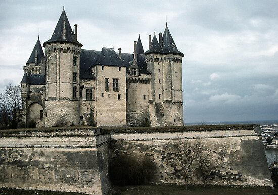 Chateau Saumur 198402220041 by Fred Mitchell