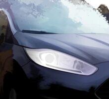 Ford Fiesta Splatter Sticker