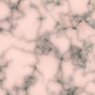 Pink marble by CatchyLittleArt