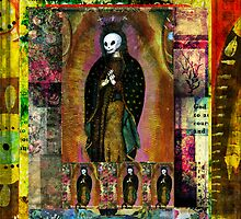 The Virgin of Guadalupe - Day of the Dead POP ART by dayofthedeadart
