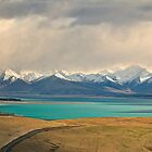 Storm Brewing over Lake Tekapo by Images Abound | Neil Protheroe