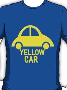 Yellow Car T-Shirt