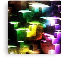 bright tetris Canvas Print