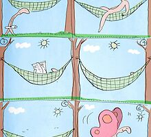 hammock by Loui  Jover