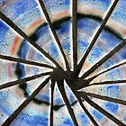 Blue Abstract Mosaic by MidnightMelody