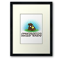 Angry Turds Framed Print