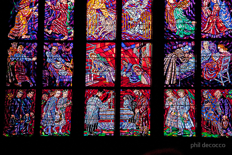 Art In Stained Glass by phil decocco