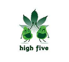 High Five Photographic Print
