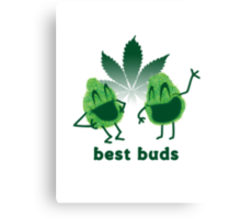 Best Buds Canvas Print