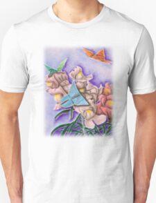 Origami Butterflies T-Shirt