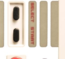 Controller- Nintendo 8 Bit Sticker